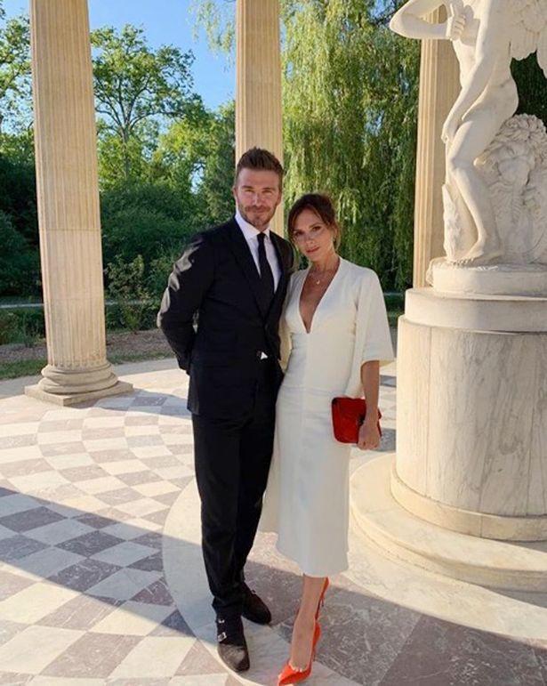 貝克漢夫婦在凡爾賽宮玩得樂不思蜀。圖/摘自Instagram
