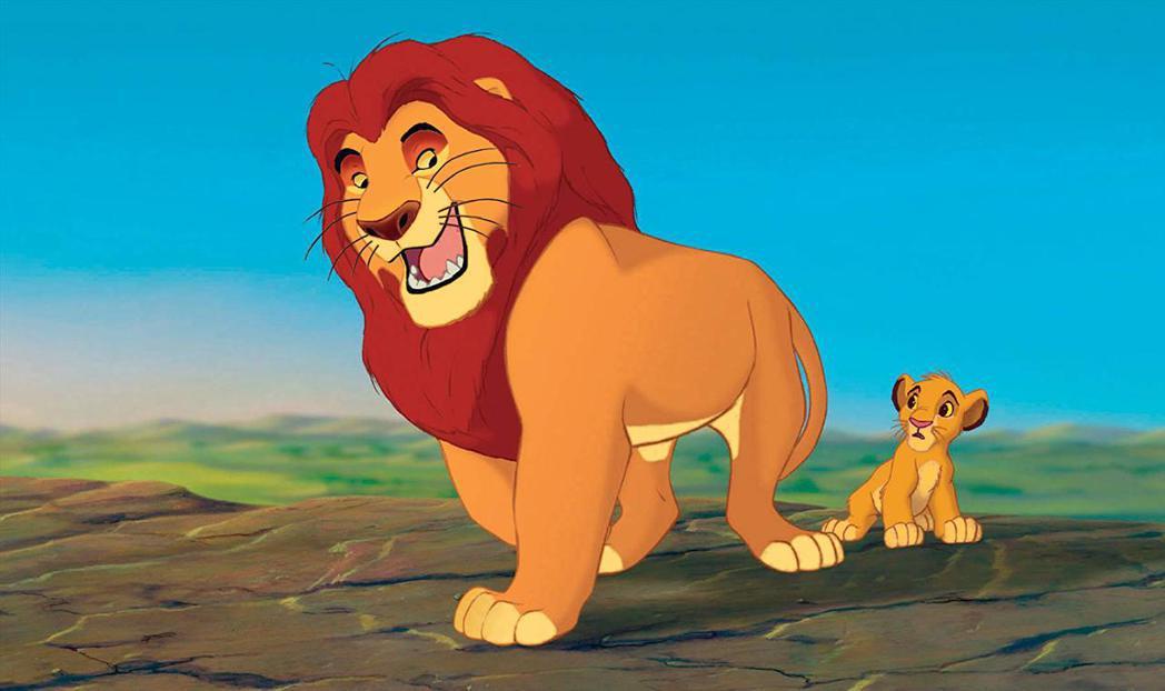 動畫版「獅子王」曾經轟動全球、連英國王子都看得入迷。圖/摘自imdb