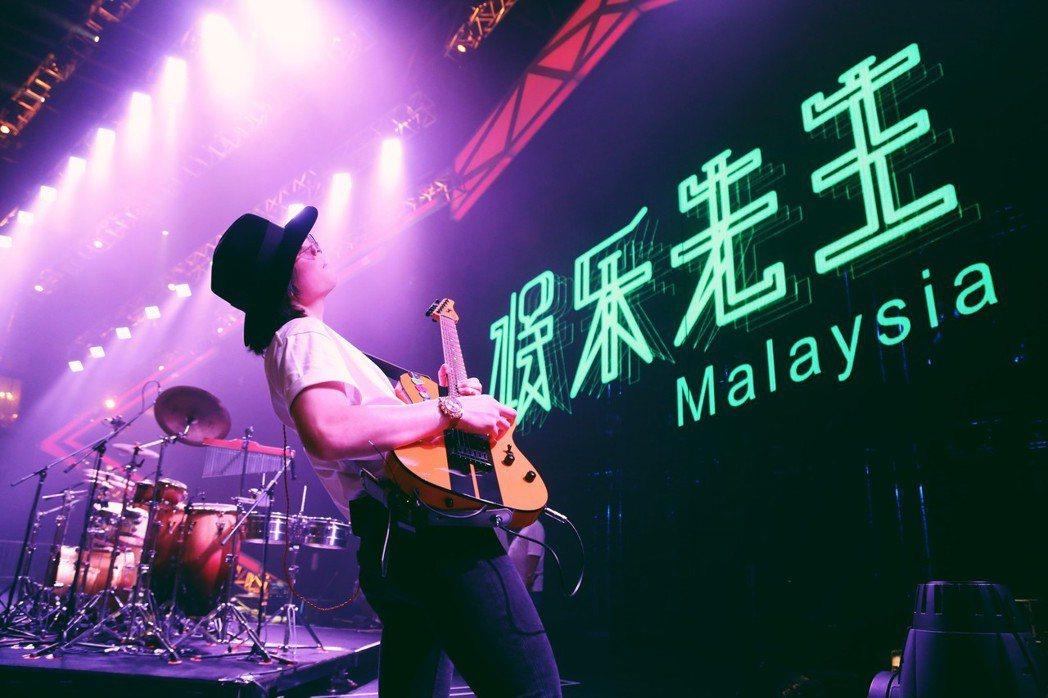 老蕭暌違4年帶全新巡演大馬開唱,直呼:「想念粉絲的熱情。」圖/華納音樂提供