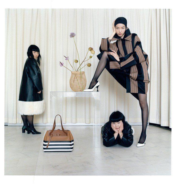 LOEWE出版的第26期限量版秋冬形象目錄,由身兼攝影的日本藝術家Fumiko ...