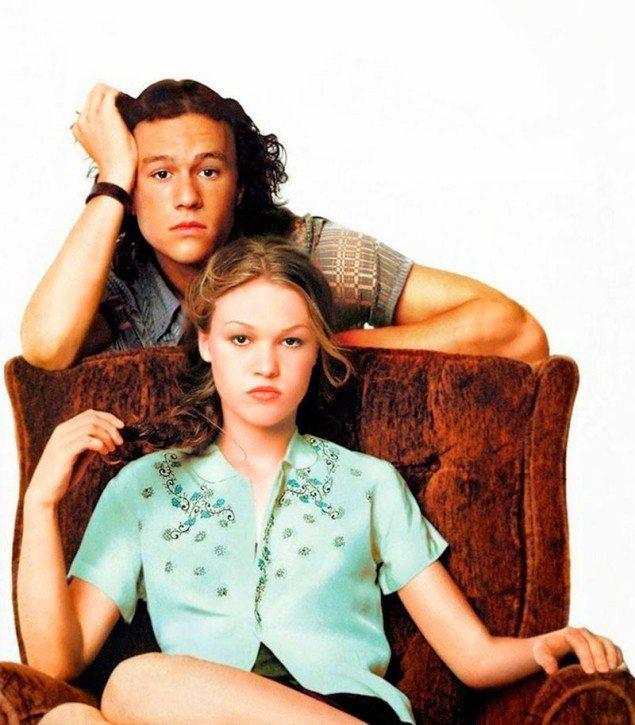 希斯萊傑與茱莉亞史緹爾在「對面的惡女看過來」有絕妙感情對手戲。圖/摘自imdb