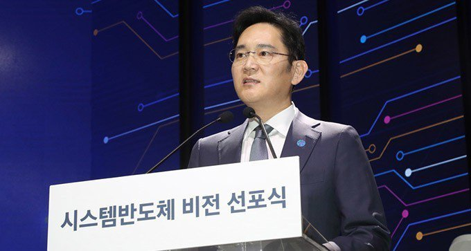 李在鎔。韓聯社