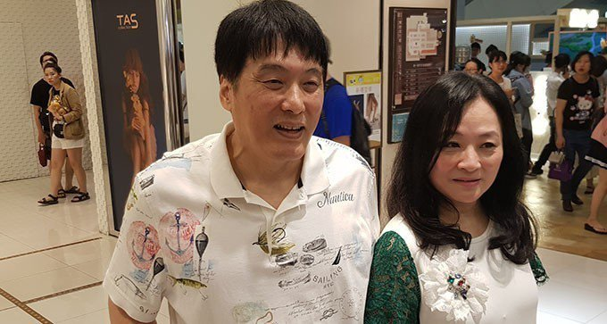 統一董事長羅智先(左)及統一美麗事業董座高秀玲。 記者曾仁凱/攝影