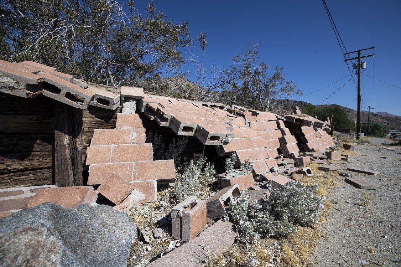加州大地震 歐新社