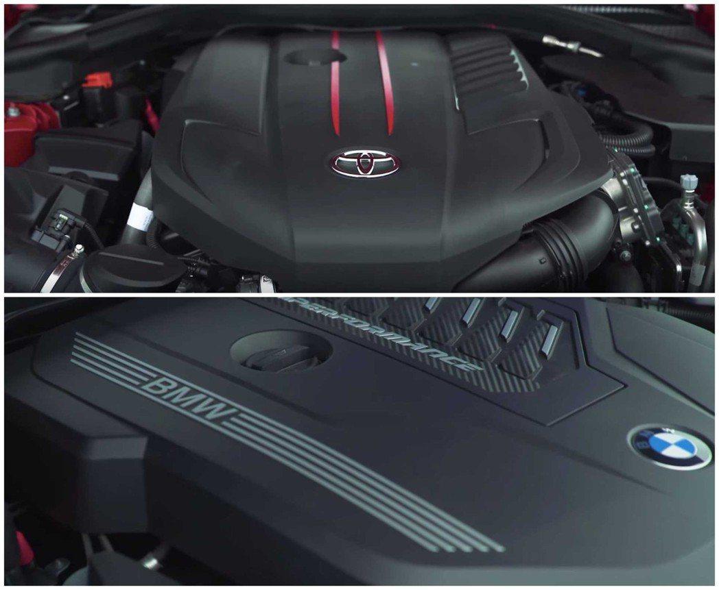 BMW代號B58的3.0升直六渦輪增壓引擎,有著335hp的馬力和51kgm的扭...