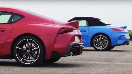 影/Toyota的調校真的比較強?GR Supra與BMW Z4 M40i兄弟正面對決!