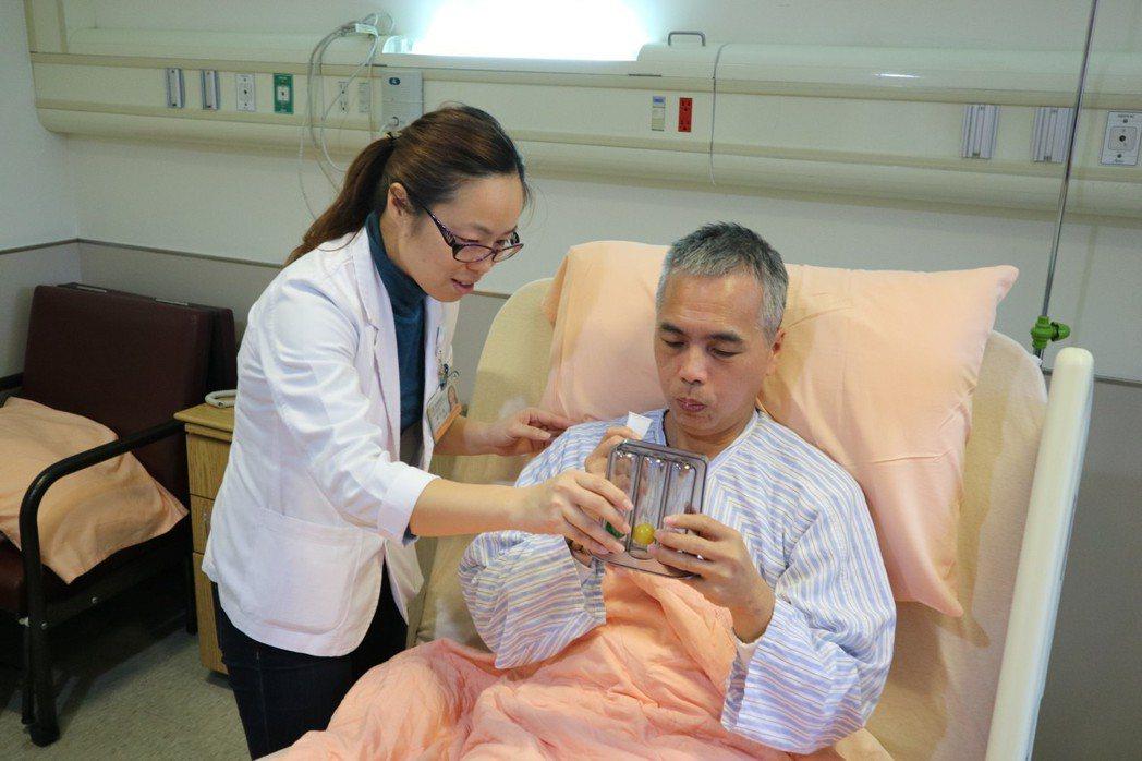 術後加速康復療程讓病人開刀後能盡快恢復。圖/國泰醫院提供