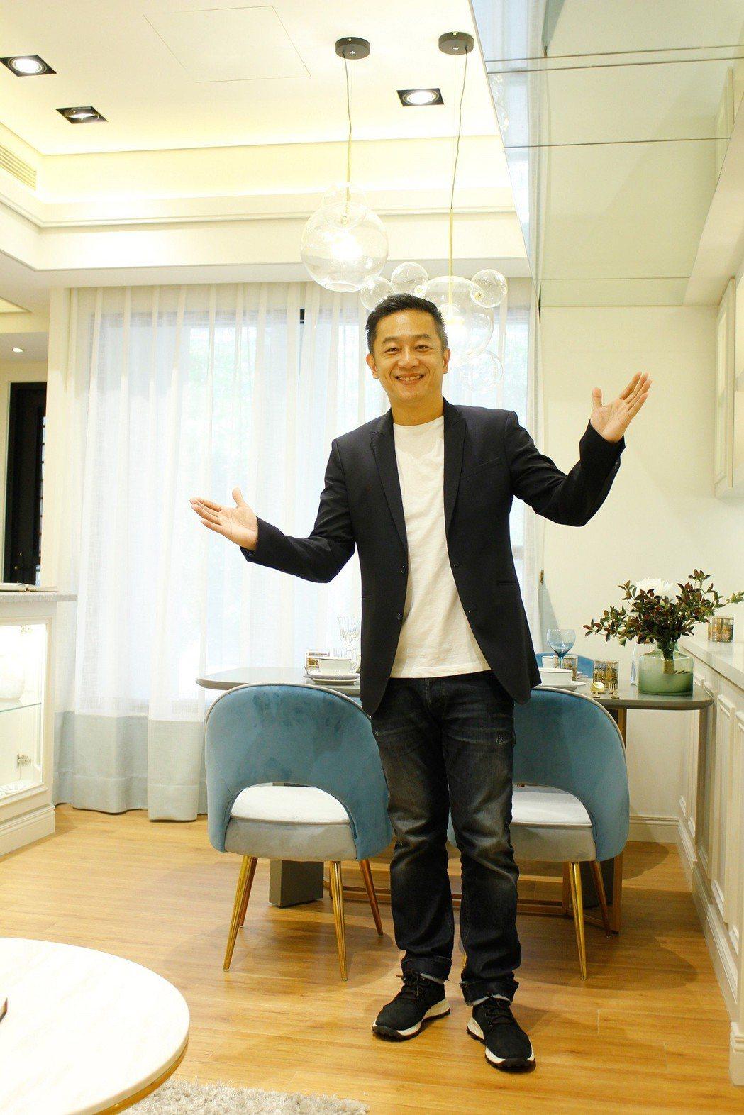 陳昭榮透露與高雄的地緣,未來也考慮在當地置產。圖/翰成數位直播提供
