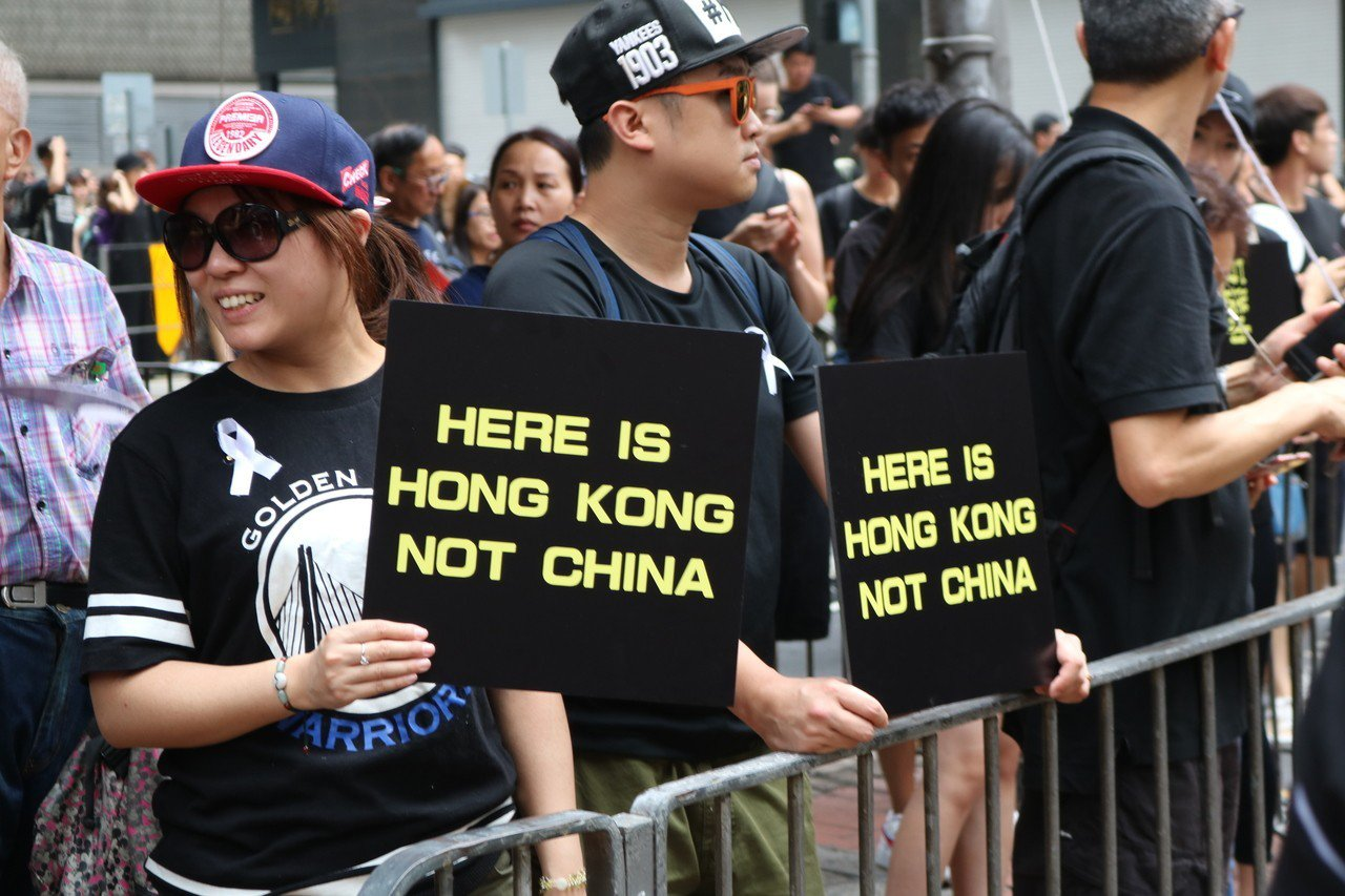 反送中運動的本質,與港人不信任中國政府有很大的關聯性。記者陳熙文/攝影