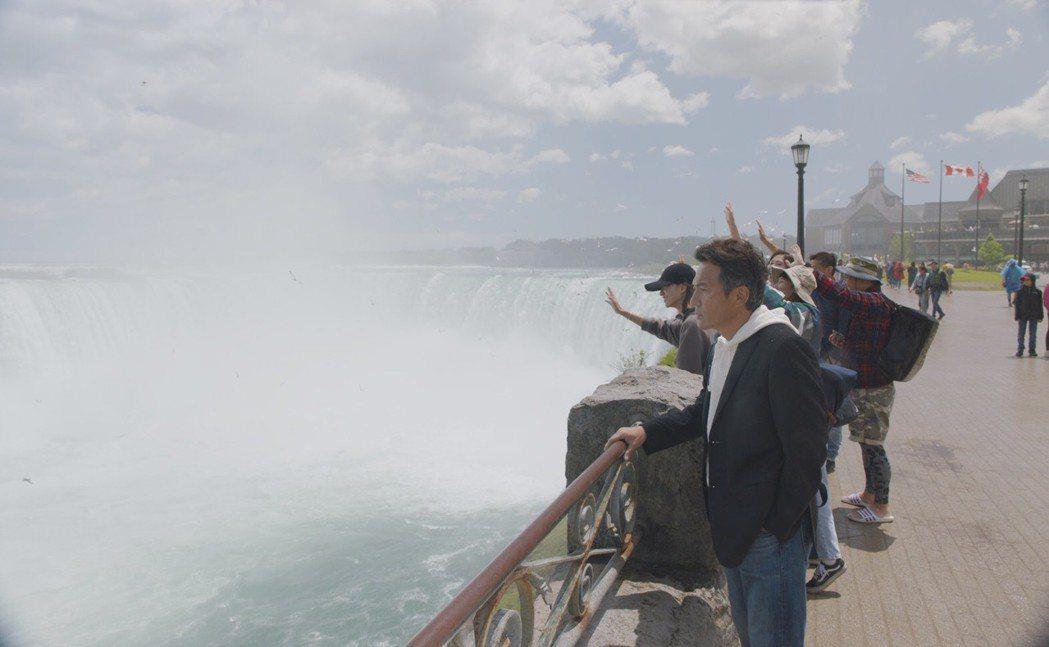 戴立忍赴加拿大拍片。圖/氧氣提供