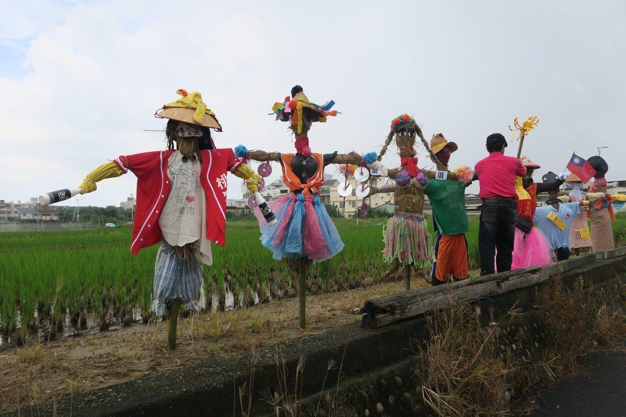 憶童年與稻草人相伴 高雄湖內居民參與農村體驗