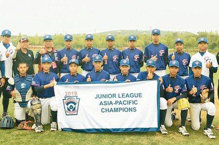 棒球/LLB、小馬聯盟不再是國手 今年起改縣市名出征