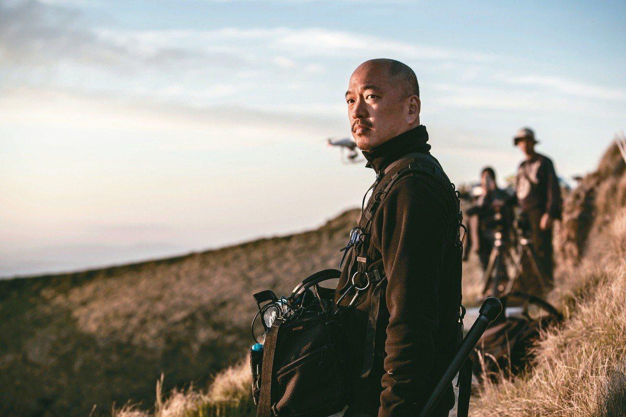 周震,原民台《吹過島嶼的歌》拍攝現場,紐西蘭Te Mata Peak。 杜貞治/...