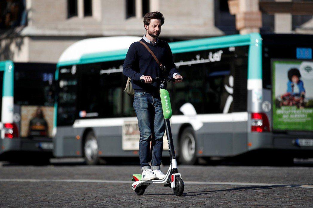 萊姆單車(Lime)針對法國巴黎、里昂和馬賽4,500位通勤者調查指出,僅19%...