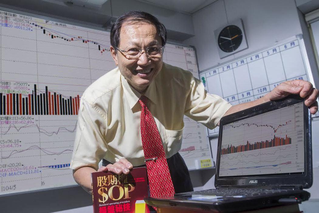 股市知名作家陳霖老師。