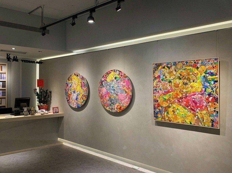藝站當代藝廊展出極具競爭力與潛力的藝術家作品。 藝站當代藝廊/提供