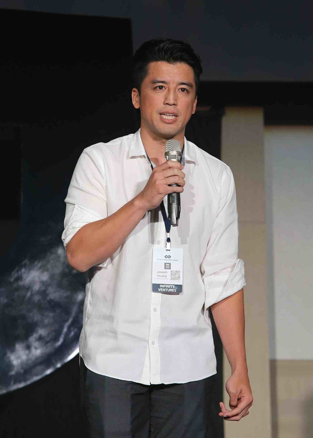 血液中存在創業DNA,黃立安誓言將台灣新創帶上國際舞台。 IVP/提供