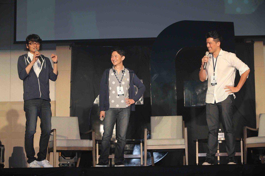 在IVS高峰會上,三位合夥人妙語如珠,串連起台灣新創團隊與日本市場。 IVP/提...