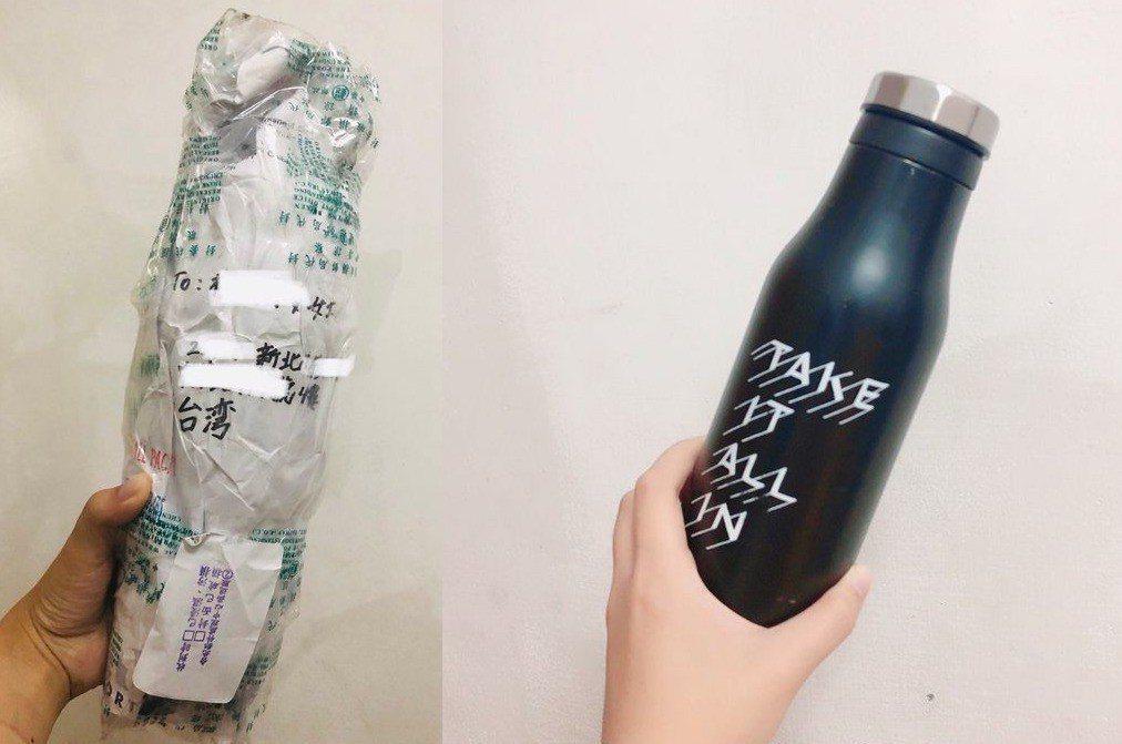 不少網友要求要看保溫瓶,原PO於是補上照片。圖擷自 Dcard