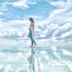台中打卡新秘境!絕美「天空之鏡」餐廳超夢幻 漫步雲端+吹涼風舒壓聖地
