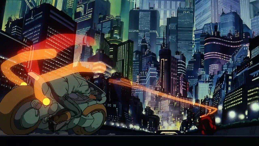 1988年《阿基拉》就呈現相當細膩的光影。