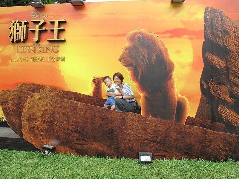 ▲《獅子王》「榮耀國巨型互動展」即日起在台北華山與你見面,趕緊來重溫這份感動吧!...