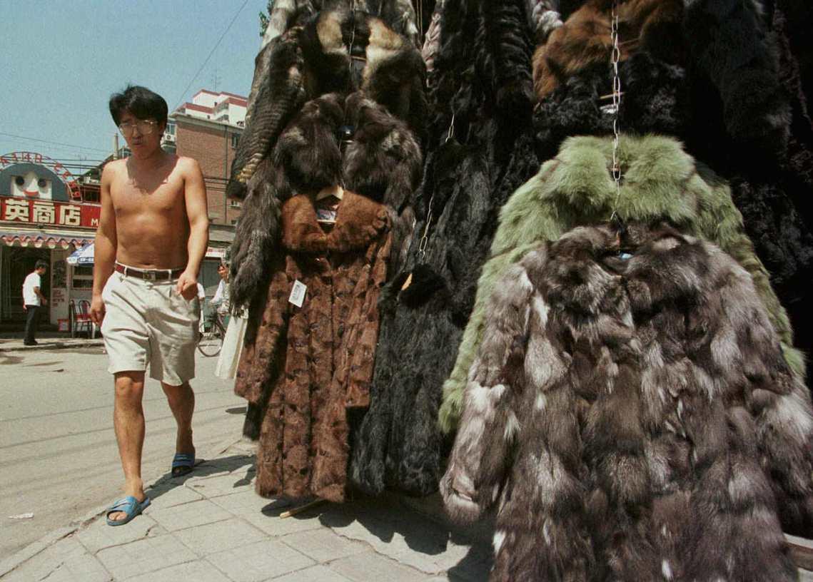 圖為90年代的北京。 圖/路透社