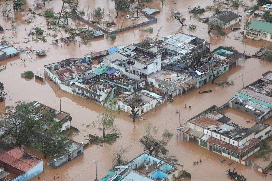 開發中國家發生較少衝擊的天然災害,現今也經常會發生。(Photo by DFID...