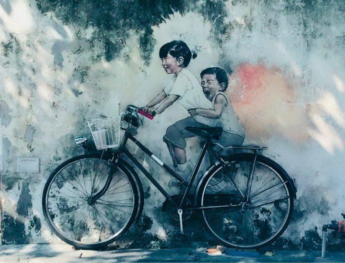 ▲馬來西亞景點-檳城喬治壁畫街。(圖/Tripbaa趣吧!亞洲自由行專家)