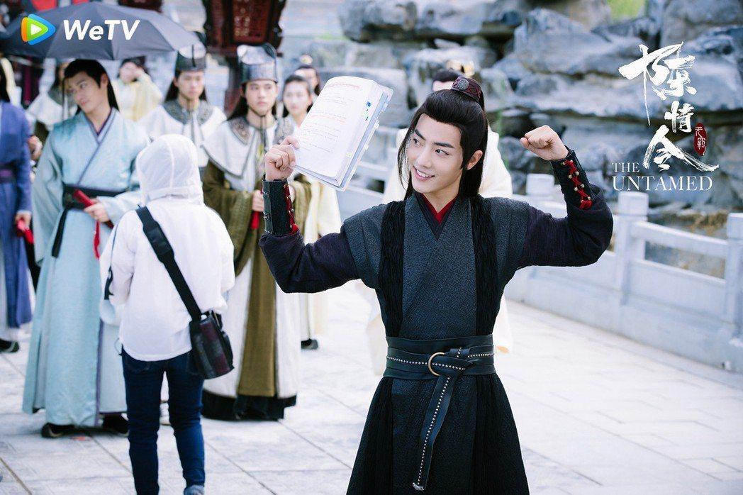 肖戰被封是2019古裝男神之一。圖/WeTV提供