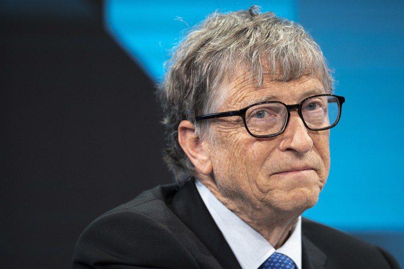 微軟共同創辦人比爾‧蓋茲。歐新社