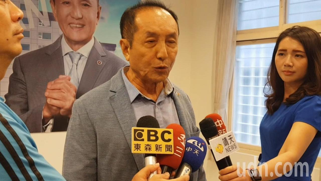 「虧雞福來爹」林義豐去年參選台南市長。記者修瑞瑩/攝影