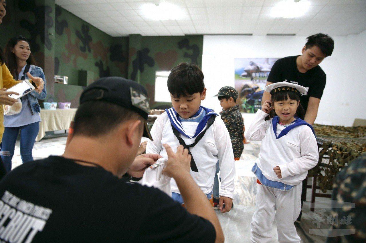 國軍「國防部幼兒園」招收軍眷子女包括幼幼班21人、小班生39人、中班生39人、大...