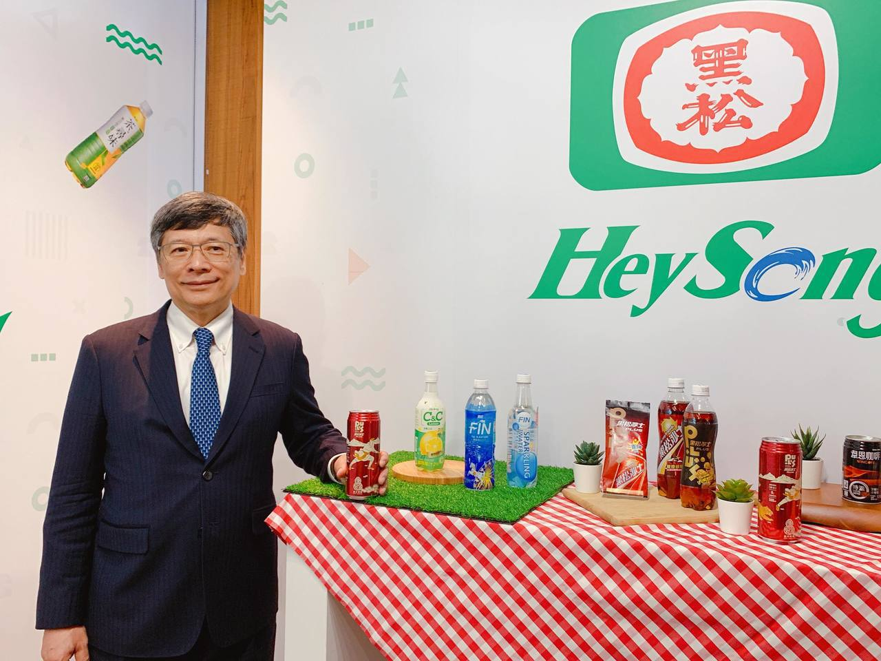 黑松董事長張斌堂喊出4大核心目標,再創品牌輝煌。記者徐力剛╱攝影