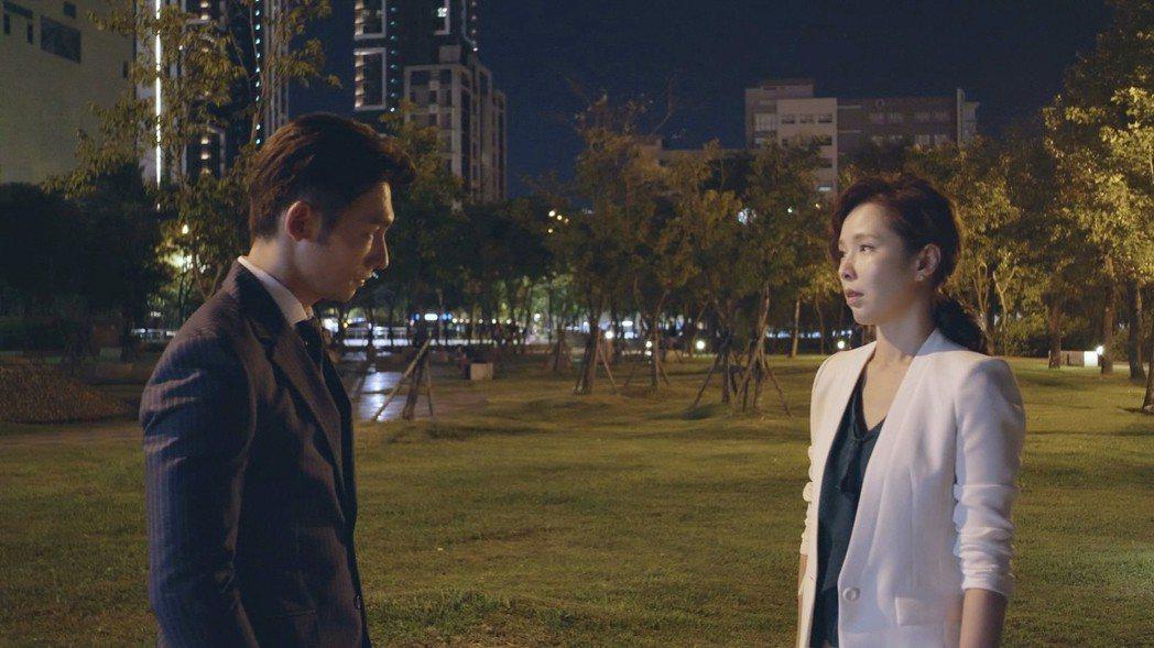 天心、溫昇豪在「最佳利益」戲中飾演夫妻。圖/華視提供