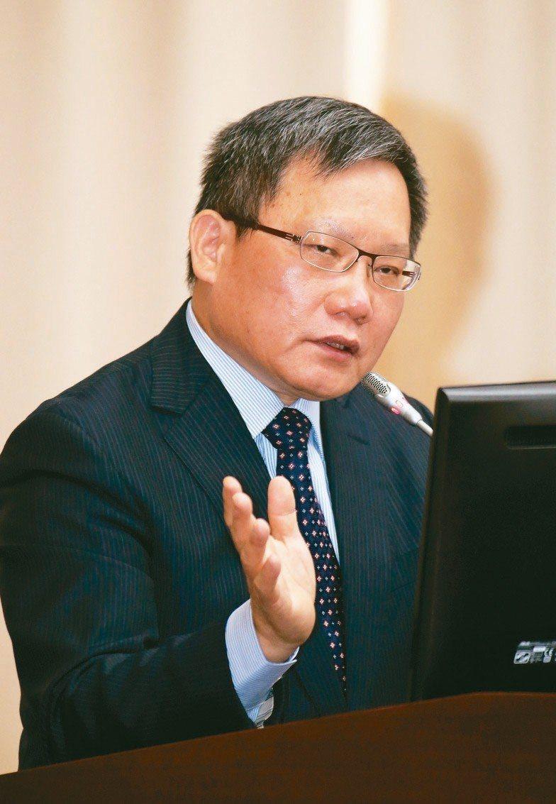 財政部長蘇建榮。圖/聯合報系資料照片