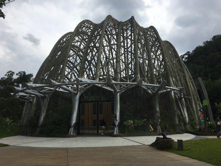 台北市立動物園歷經13年打造的「熱帶雨林館」今開幕。記者張世杰/攝影