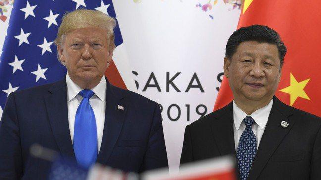 華爾街日報專欄作家指出,中國在與美國磋商貿易時有一個強大的優勢:目標明確。圖為美...