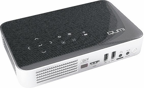 Vivitek QUMI Q38 FullHD 1080P微型投影機。 圖/台達...