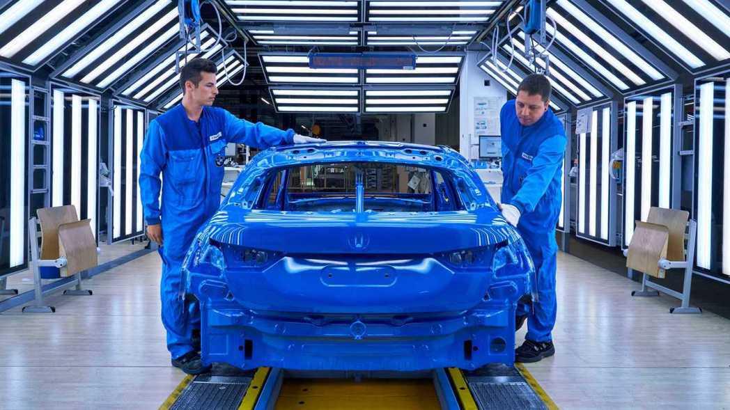 第三代BMW 1 Series目前正於德國萊比錫工廠生產中。 摘自BMW