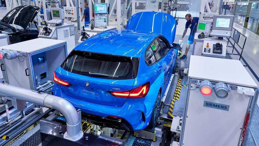 第三代BMW 1 Series開始投產了。 摘自BMW