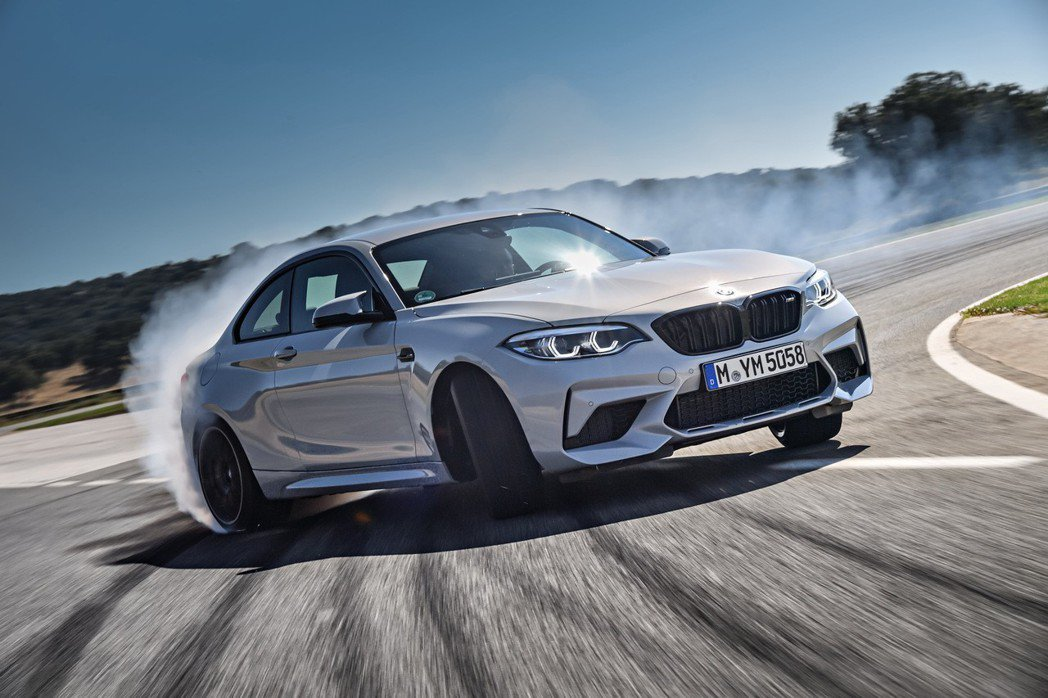 BMW M2 Competition手排版熱血登場。 圖/汎德提供