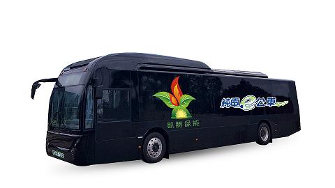 凱勝所提供的電動巴士性能與妥善率足以媲美傳統柴油車,因此獲得客運業界肯定。 凱勝...