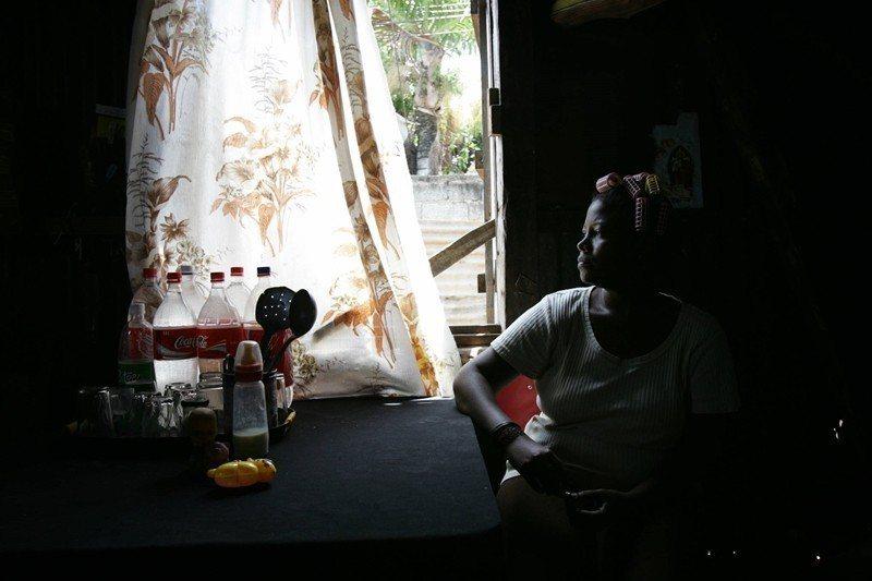 居住在模里西斯的查戈斯島民,攝於2005年。 圖/法新社