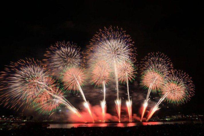 圖片來源: なにわ淀川花火大会