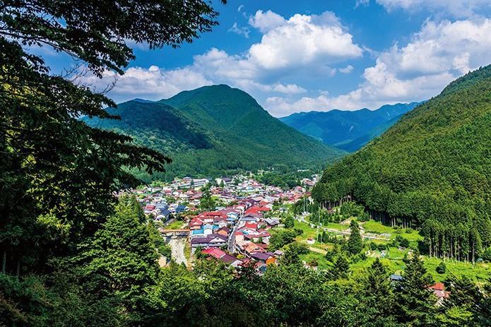 如世外桃源般的奈良天川村,讓夏季來趟涼感水岸旅吧