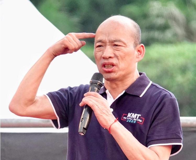 高雄市長韓國瑜。圖/本報資料照