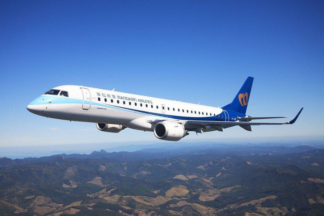 華信航空將飛台中到日本鳥取航線。圖/華信航空提供