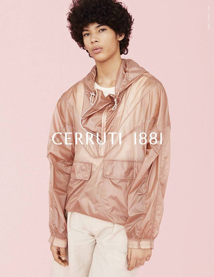 Cerruti 1881 2019春夏形象廣告。圖/Cerruti 1881提供