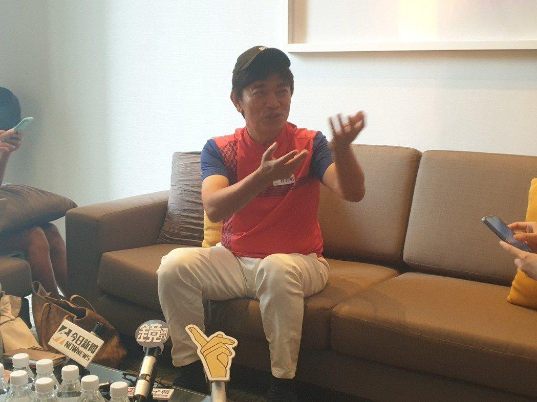 吳宗憲想把事業重心移到銷售上。記者李姿瑩/攝影